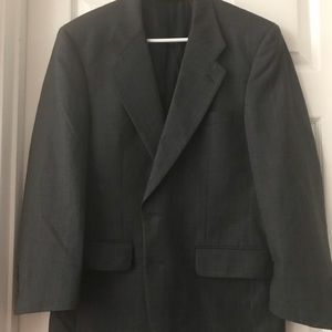 BURBERRYS Charcoal Hint of Check Sports Jacket 40